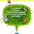 Le nuove linee ecologiche a Forlì
